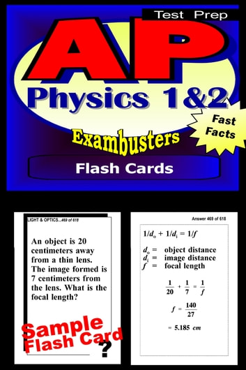 AP Physics Test Prep 1&2 Review--Exambusters Flash Cards - AP Exam Study Guide ebook by AP Exambusters