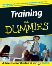Training For Dummies ebook by Elaine Biech