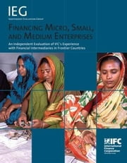Financing Micro, Small, and Medium Enterprises: An Independent Evaluation of IFC's Experience with Financial Intermediaries in Frontier Countries ebook by IFC