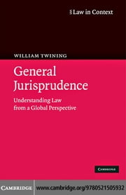 General Jurisprudence ebook by Twining,William