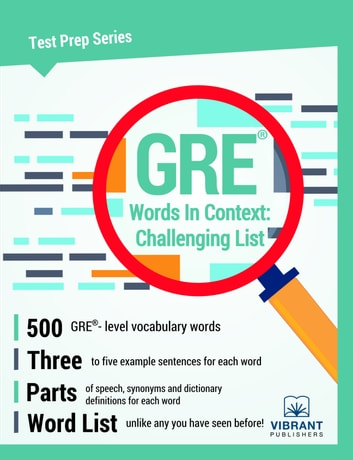 GRE Words In Context: Challenging List ebook by Vibrant Publishers