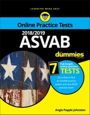 2018/2019 ASVAB For Dummies with Online Practice ebook by Angie Papple Johnston