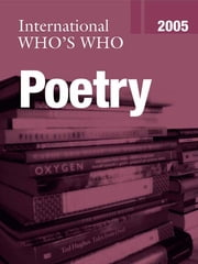 International Who's Who in Poetry 2005 ebook by Europa Publications