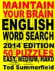 Maintain Your Brain English Word Search, 2014 Edition ebook by Ted Summerfield