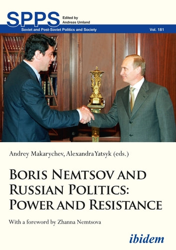 Boris Nemtsov And Russian Politics Ebook By 9783838271224