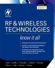 RF and Wireless Technologies: Know It All ebook by Fette, Bruce A.