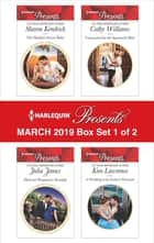 Harlequin Presents - March 2019 - Box Set 1 of 2 - An Anthology eBook by Sharon Kendrick, Julia James, Cathy Williams,...