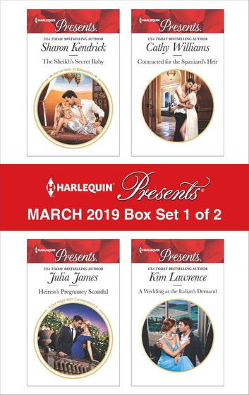 Harlequin Presents - March 2019 - Box Set 1 of 2 - An Anthology 電子書 by Sharon Kendrick,Julia James,Cathy Williams,Kim Lawrence