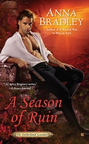 A Season of Ruin eBook by Anna Bradley