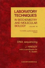 DNA Sequencing ebook by Hindley, J.
