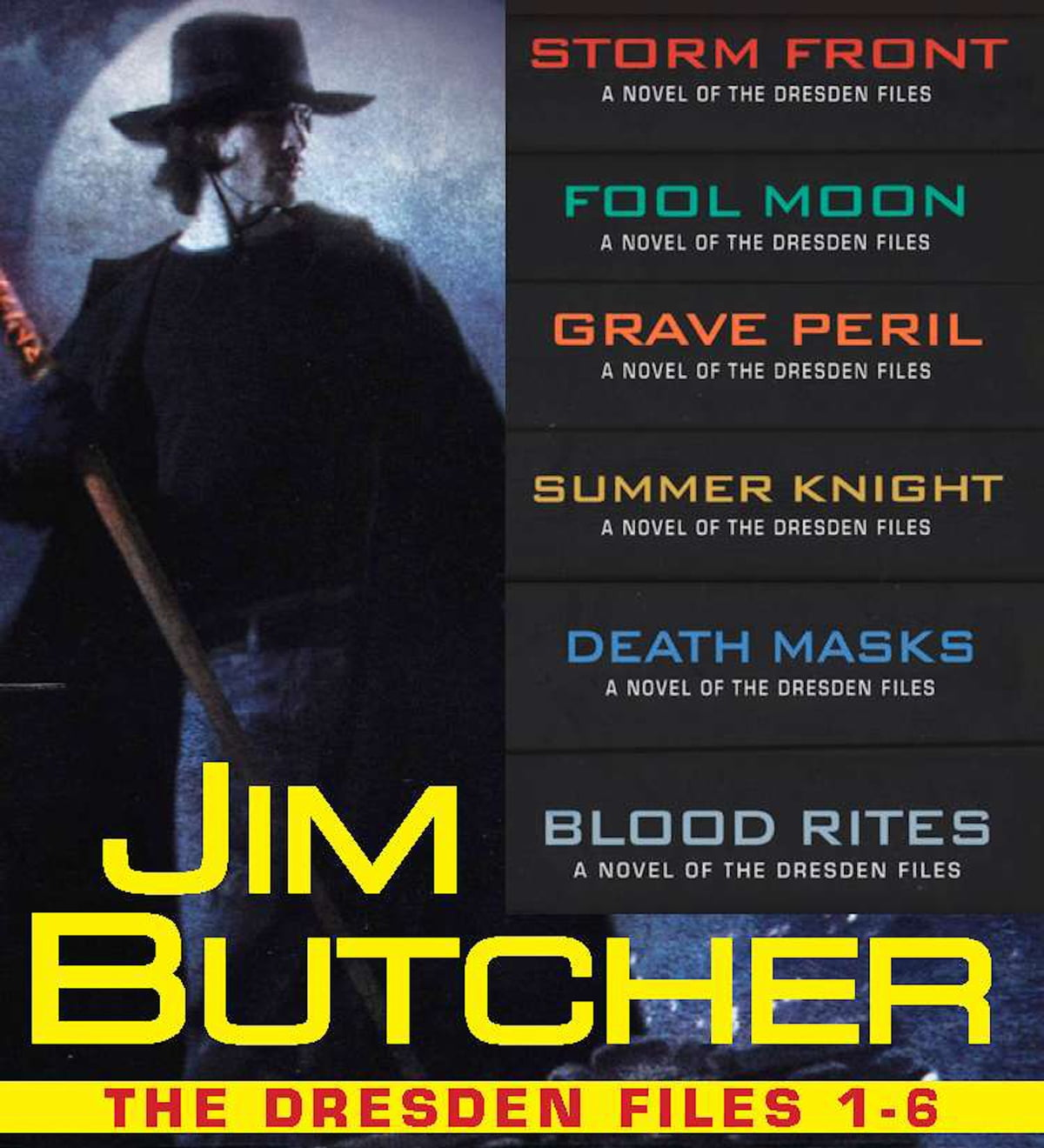 The Dresden Files Collection 1-6 eBook by Jim Butcher - 9781101499689 |  Rakuten Kobo