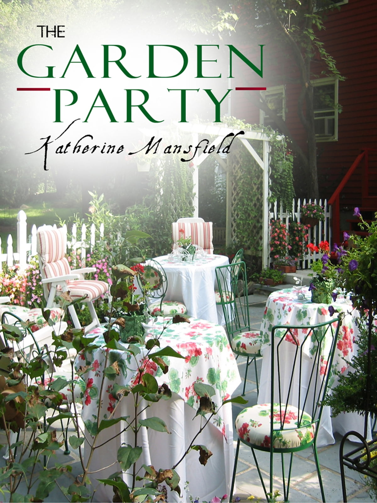 The Garden Party eBook by Katherine Mansfield spring-themed novels