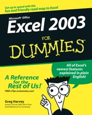 Excel 2003 For Dummies ebook by Greg Harvey