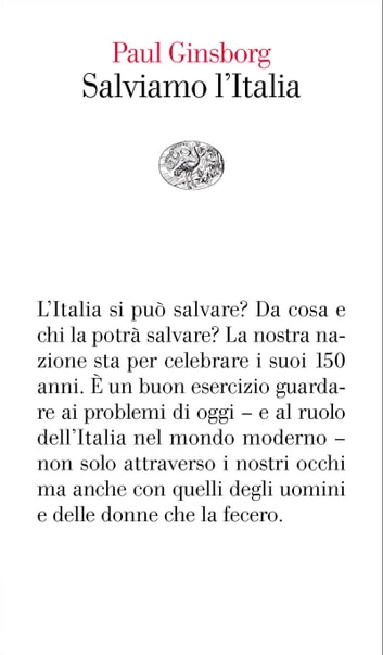 Salviamo l'Italia ebook by Paul Ginsborg