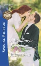 A Wedding to Remember ebook by Joanna Sims