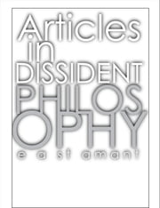 Articles in Dissident Philosophy ebook by Edward St Amant