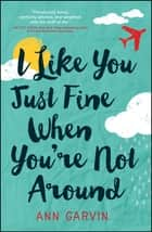 I Like You Just Fine When You're Not Around ebook by Ann Garvin