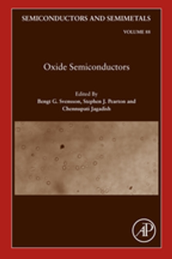 Oxide Semiconductors ebook by Bengt G. Svensson,Chennupati Jagadish,Stephen Pearton
