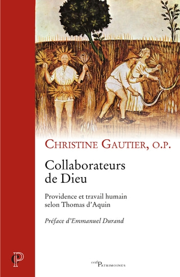 Collaborateurs de Dieu - Providence et travail humain selon Thomas d'Aquin ebook by Christine Gautier