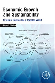 Economic Growth and Sustainability - Systems Thinking for a Complex World ebook by Karen L. Higgins