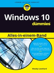 Windows 10 Alles-in-einem-Band für Dummies ebook by Woody Leonhard