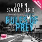 Rules of Prey audiobook by John Sandford