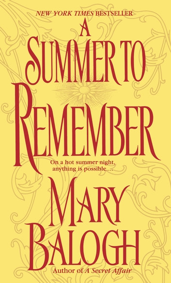 A Summer to Remember - A Bedwyn Family Novel ebook by Mary Balogh