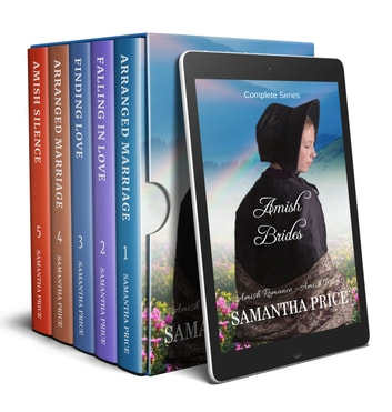 Amish Brides Boxed Set - Five Books - Amish Romance eBook by Samantha Price