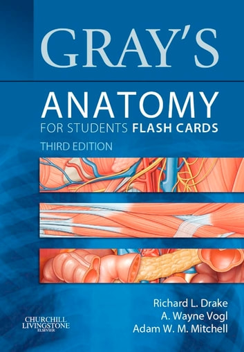Gray's Anatomy for Students Flash Cards E-Book ebook by Richard Drake, PhD, FAAA,A. Wayne Vogl, PhD, FAAA,Adam W. M. Mitchell, MB BS, FRCS, FRCR