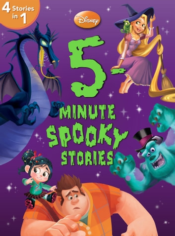 5-Minute Spooky Stories - 4 books in 1 ebook by Disney Book Group