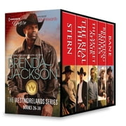Brenda Jackson The Westmorelands Series Books 26-30 - Stern\The Real Thing\The Secret Affair\Breaking Bailey's Rules\Bane ebook by Brenda Jackson