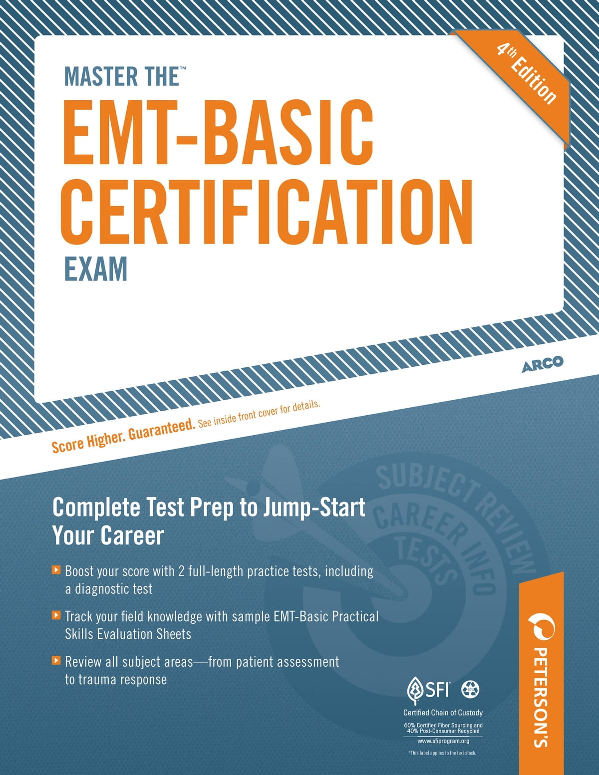 Master the EMT-Basic Certification Exam: All About the EMT eBook by  Peterson's - 9780768934519 | Rakuten Kobo