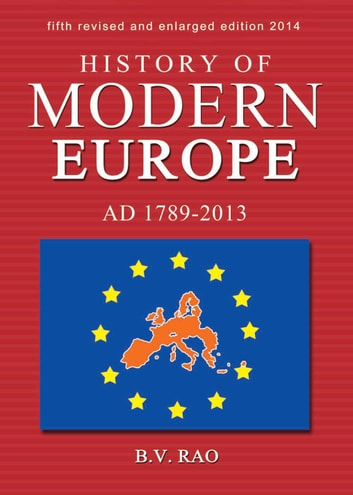 History of modern europe ebook by bv rao 9788120792760 rakuten history of modern europe ad 1789 2013 ebook by bv rao fandeluxe Choice Image