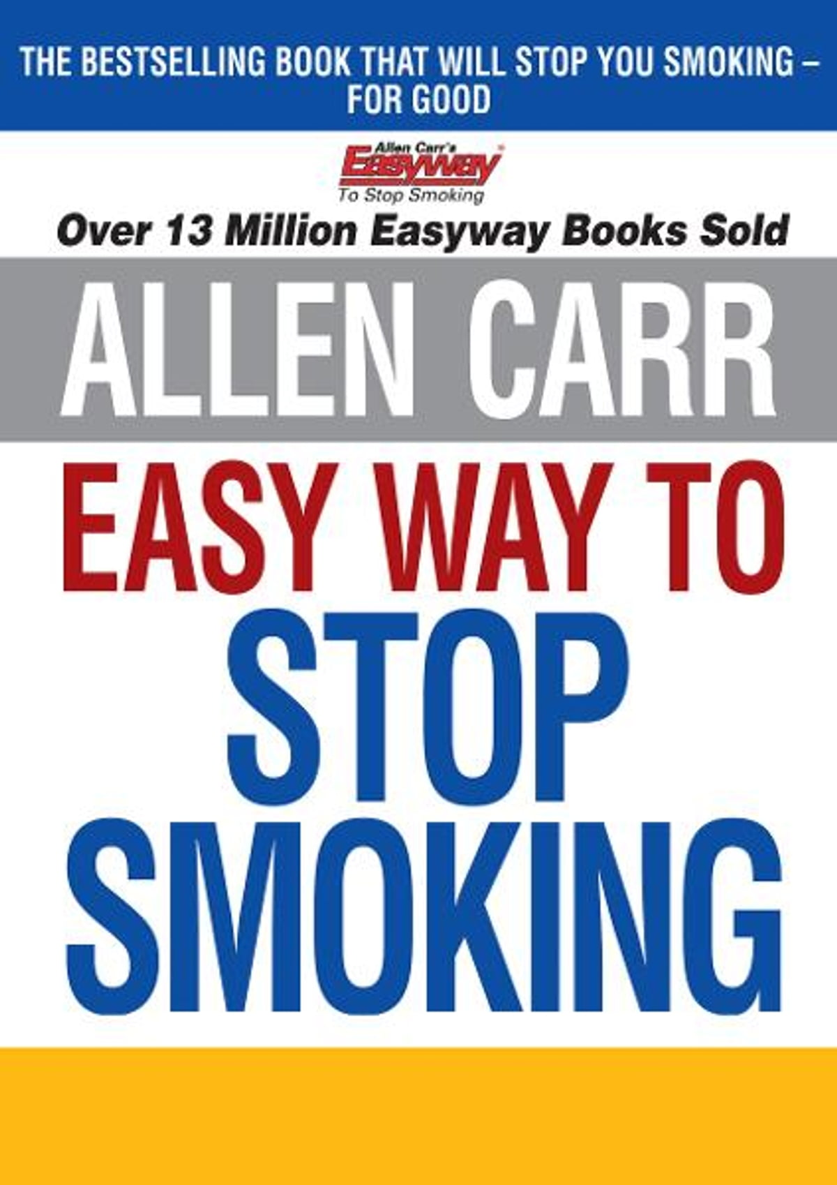 Allen Carrs Book The Easyway To Quit Smoking