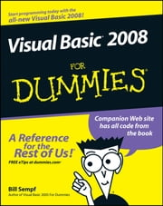 Visual Basic 2008 For Dummies eBook by Bill Sempf
