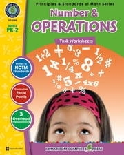 Number & Operations - Task Sheets Gr. PK-2 ebook by Nat Reed