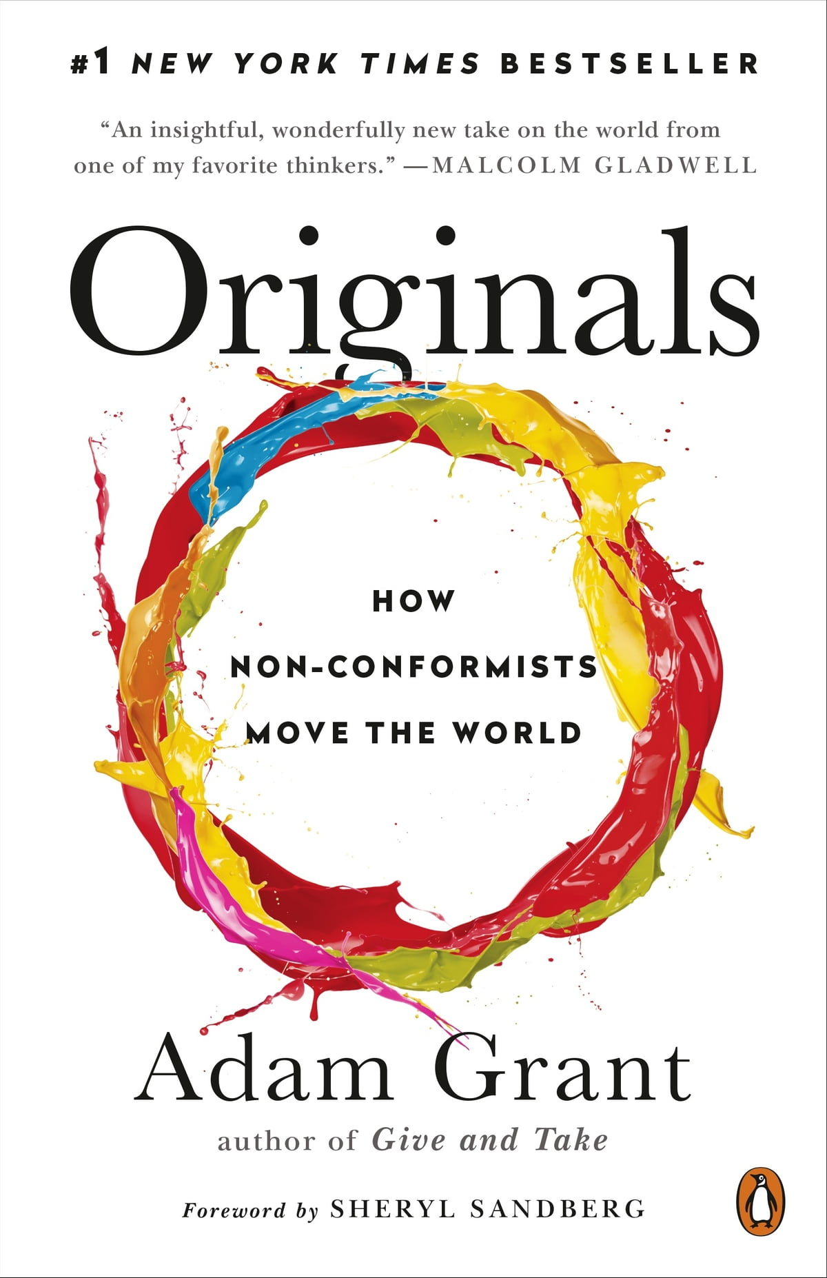 Originals  How Nonconformists Move The World Ebook By Adam Grant, Sheryl  Sandberg