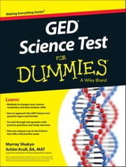 GED Science For Dummies ebook by Murray Shukyn,Achim K. Krull