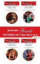 Harlequin Presents October 2017 - Box Set 2 of 2 - The Italian's Pregnant Prisoner\Undone by the Billionaire Duke\Bound by the Millionaire's Ring\The Virgin's Shock Baby ebook by Maisey Yates, Caitlin Crews, Dani Collins,...