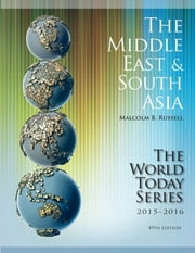 The Middle East and South Asia 2015-2016 ebook by Malcolm Russell