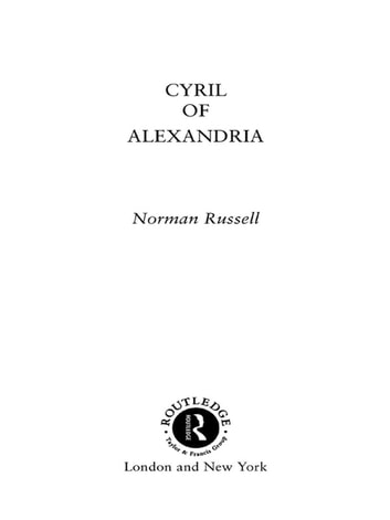 Cyril of Alexandria ebook by Norman Russell