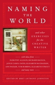 Naming the World - And Other Exercises for the Creative Writer ebook by Bret Anthony Johnston