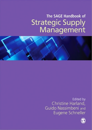The SAGE Handbook of Strategic Supply Management ebook by