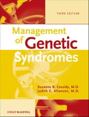 Management of Genetic Syndromes ebook by Suzanne B. Cassidy,Judith E. Allanson