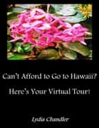Can't Afford To Go To Hawaii? Here's Your Virtual Tour! ebook by Lydia Chandler