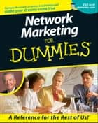 Network Marketing For Dummies ebook by Zig Ziglar,John P. Hayes