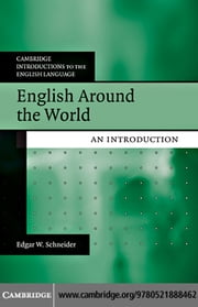 English Around the World ebook by Schneider, Edgar W.