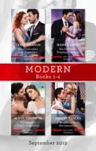 Modern Box Set 1-4/His Cinderella's One-Night Heir/His Forbidden Pregnant Princess/The Greek's Virgin Temptation/Redeemed by Her Innocen ebook by Lynne Graham, Susan Stephens, Maisey Yates,...