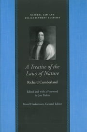 A Treatise of the Laws of Nature ebook by Richard Cumberland
