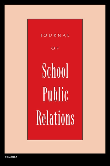 Jspr Vol 32-N3 ebook by Journal of School Public Relations